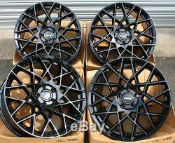 18 GB Rt-I Mesh Roues Alliage pour VW Caddy EOS Golf Passat Scirocco Sharan