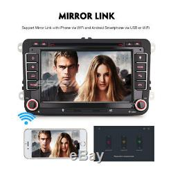 7Android 8.0 Autoradio Navi DAB+DVD for VW PASSAT GOLF TOURAN JETTA SKODA SEAT