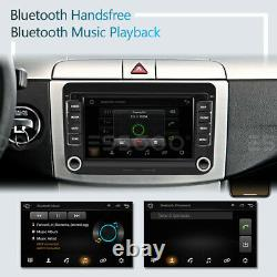 7 AUTORADIO Android 9.1 GPS RDS 2 DIN For VW GOLF 5 Variant Passat Touran POLO