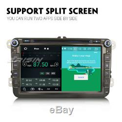8-Core Android 8.1 Autoradio GPS For VW Passat Golf Tiguan Polo Caddy Seat Skoda