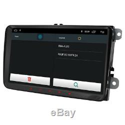 9 Android 8.1 Car Stereo GPS OPS DAB+BT For VW Passat Golf Touran Eos Polo Seat