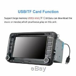 Autoradio 2 Din Navi Gps Dvd Mp5 Usb Sd FüR Vw Golf 5 Passat Touran Polo Tigua%
