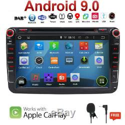 DVD DAB+ Android 9.0 OPS Autoradio For VW Passat Golf 5/6 Polo Tiguan Jetta Seat