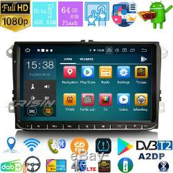 IPS Android 9.0 Autoradio DAB+4G for VW Passat Golf 5/6 Tiguan Seat 9 BT5.0 DSP