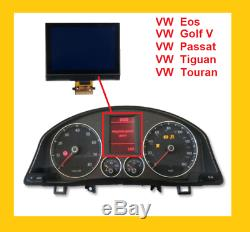 LCD Display with FPC For VOLKSWAGEN GOLF V TOURAN PASSAT SEAT